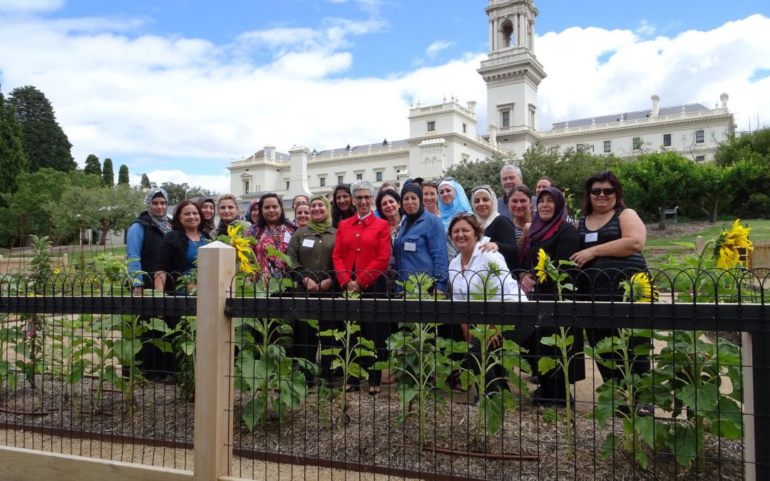 Peace & prosperity garden at government house