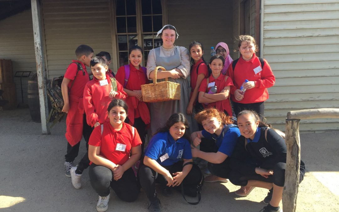 Stepping back in time at Sovereign Hill