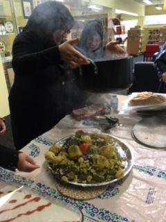 FOOD BRINGS PEOPLE TOGETHER